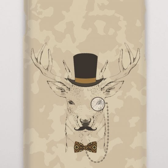 Deer camouflage phone cover