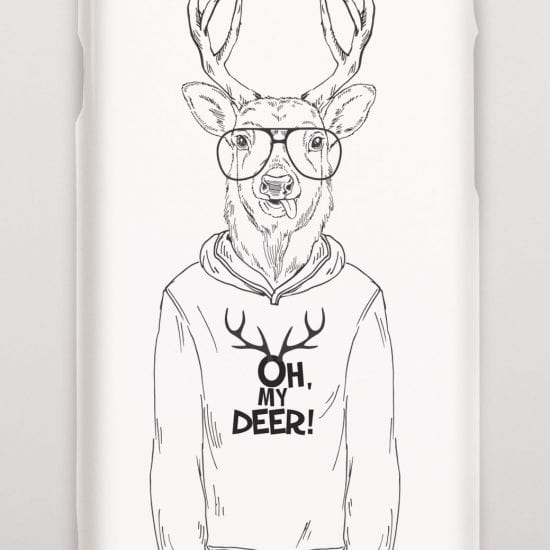 Oh deer phone cover