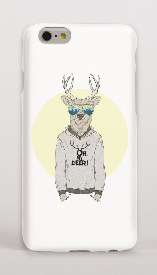 deer phone cover