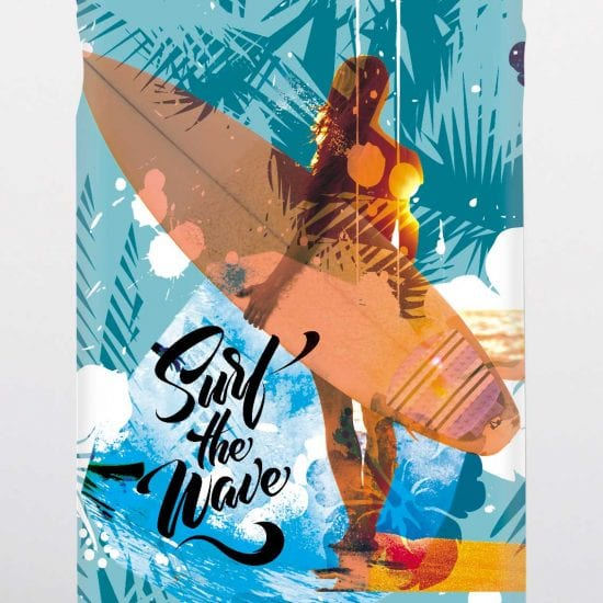 surfer girl phone case
