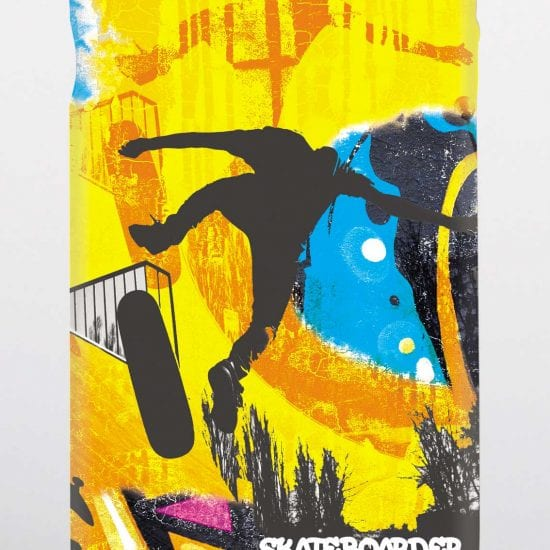 skateboarder phone case