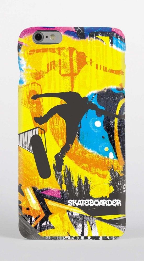 skateboarder phone case