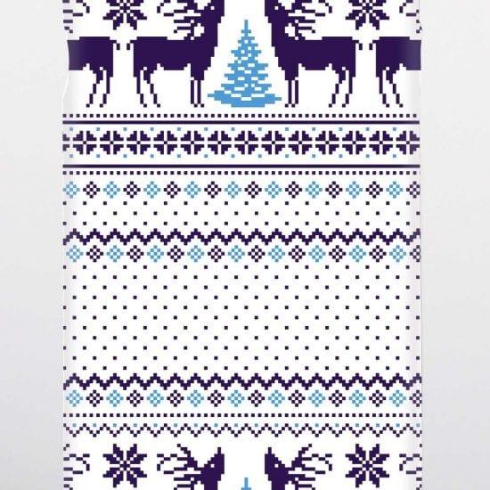 blue Christmas jumper