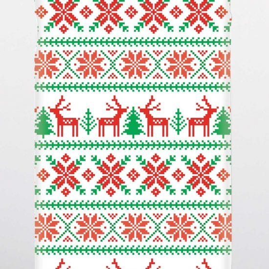 Phone case Christmas jumper design