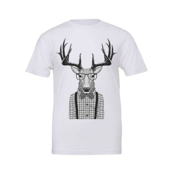 Stag man t shirt